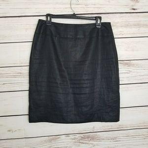 🎀3/$20 Anne Klein Linen Pencil Skirt EUC